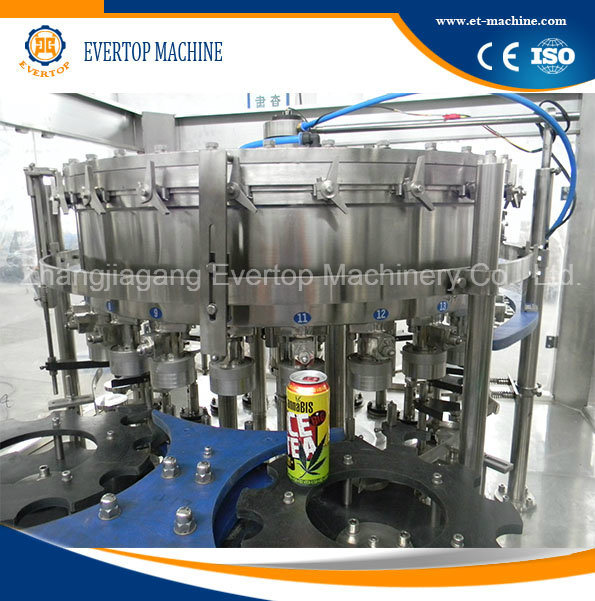 Aluminum Can Drink Filling Machine
