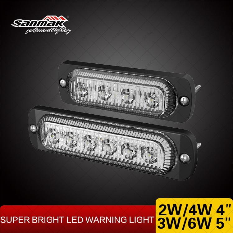 Ultra Slim 19 Flash Patterns LED Light Head