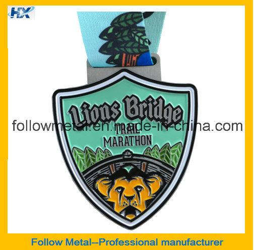 Custom High Quality Zinc Alloy Fashion 21km Half Marathon Medals