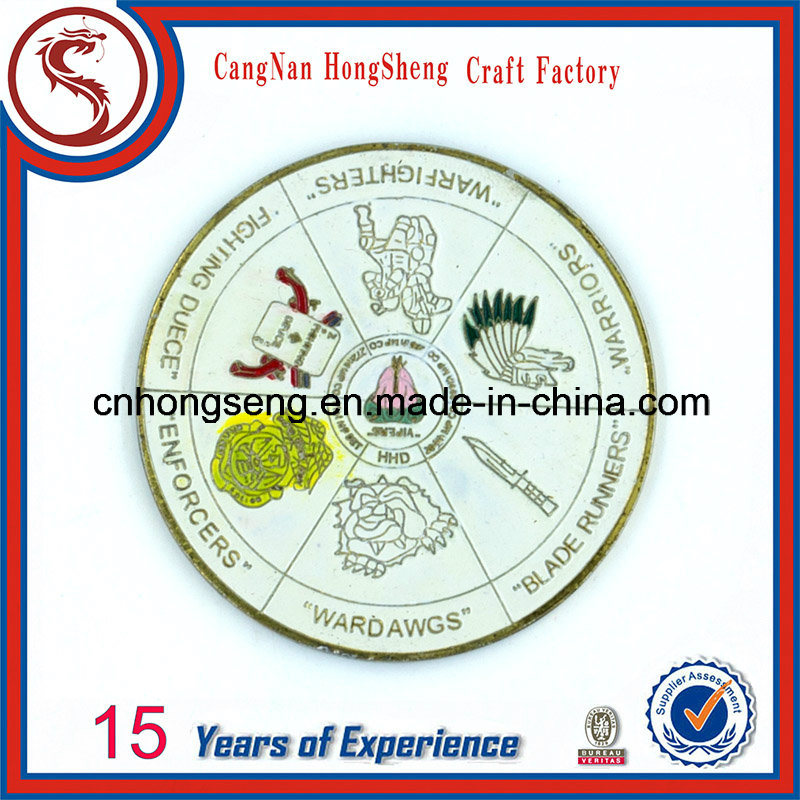 Customized Antique Gold Silver Copper Sport Metal Coin