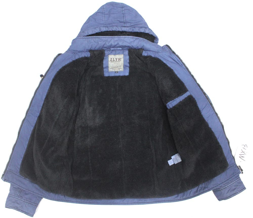 Men′s Winter Cotton Vintage Washing Casual Jacket/Coat