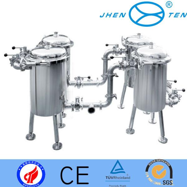 High Precision Duplex Vertical Basket Type Filter