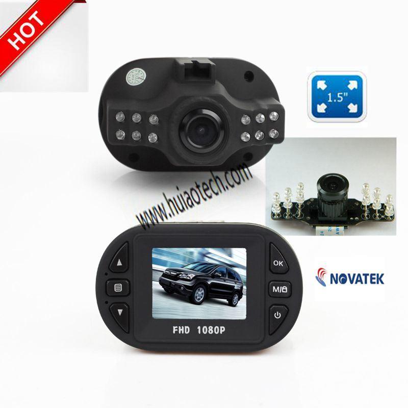 """Cheap 1.5"""" Car DVR with 1.3mega CMOS Camera, G-Sensor, 1080P Optical Sensor"""