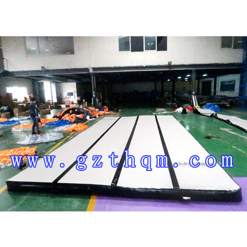 Wide Gymnastics Training Inflatable Gymnastics Mat Inflatable Air Tumble Trac Inflatable Tumbling Air Track