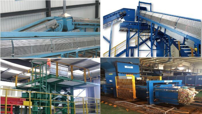 Solid Domestic Waste /Garbage Sorting Plant