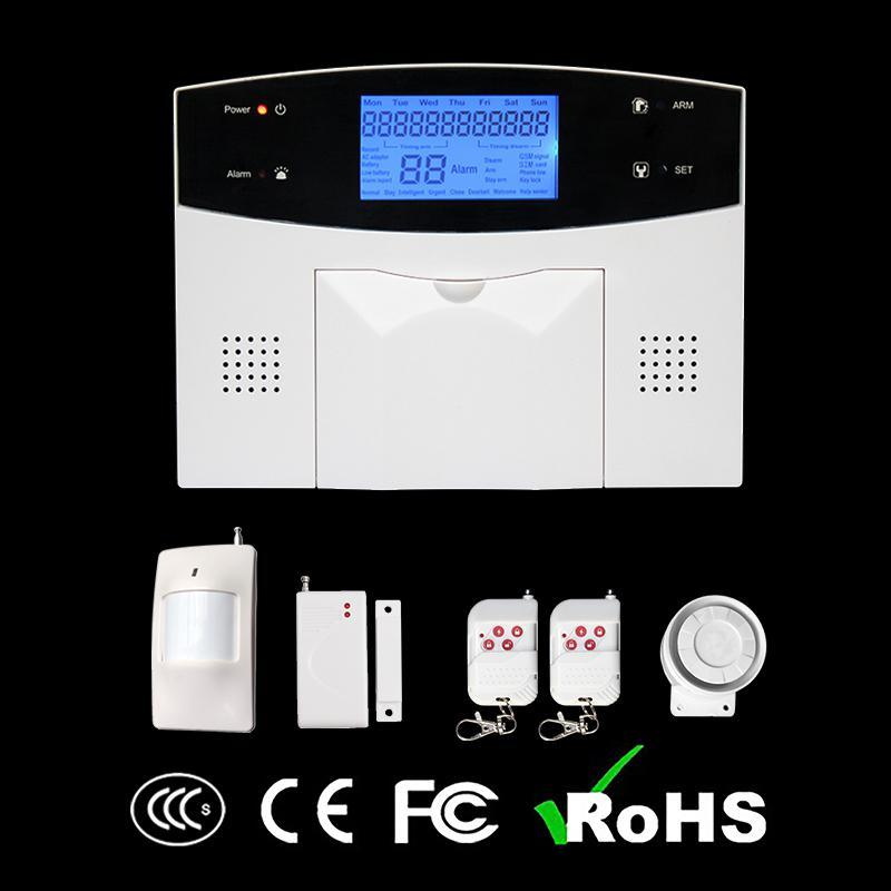 Wireless Dual Network PSTN/GSM Alarm Products