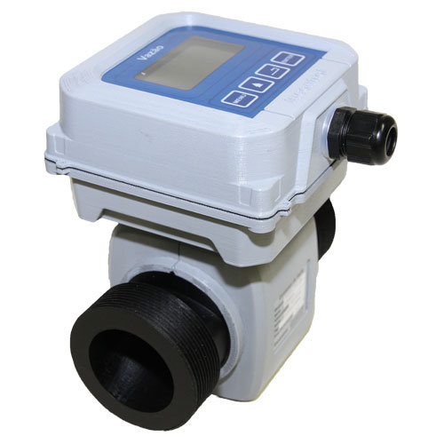 New Plastic Compact Magnetic Flow Meter for Sewage with 4-20 Ma Output