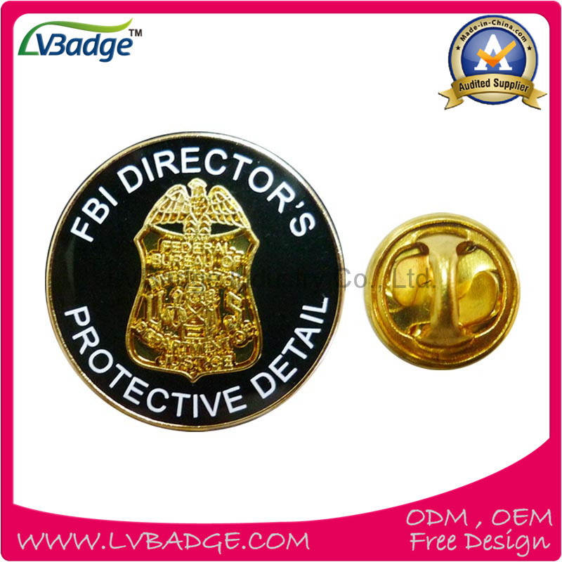 Promotional Hot Sale Printed Metal Pin Badge