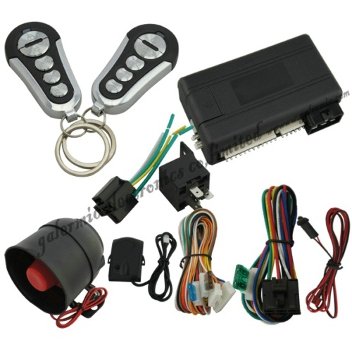 Remote Engine Start Car Alarm System with Automatic Door Lock