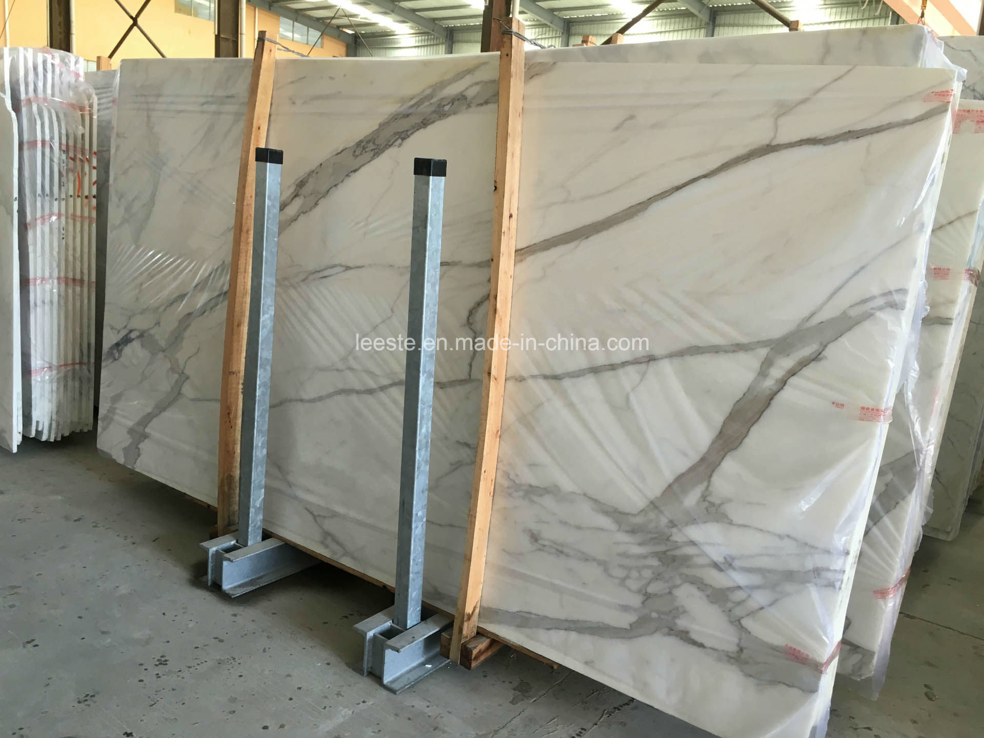 High Quality Calacatta White Marble, Tile and Slab Marble