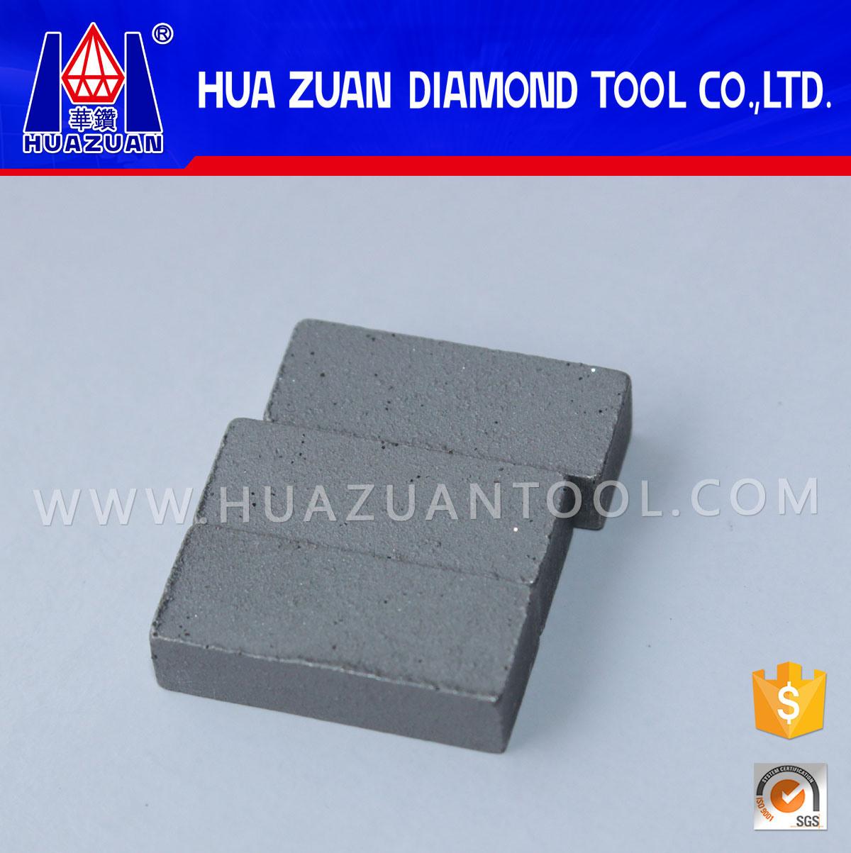 High Efficiency Marble Cutting Diamond Gangsaw Segment