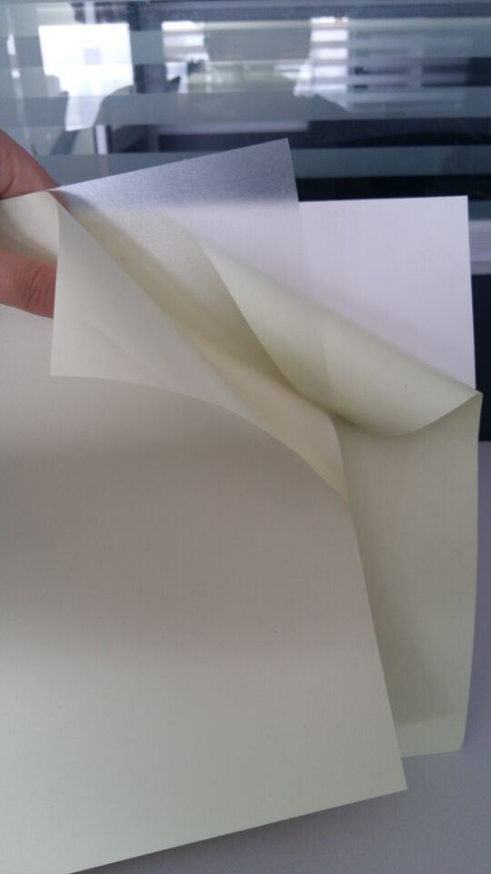 PVC Material Self Adhesive PVC Inner Sheets for Album Making