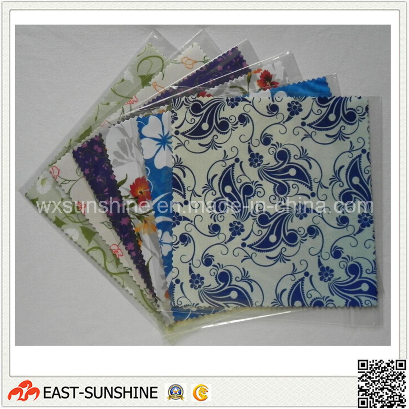 Microfiber Glasses Clean Cloths (DH-MC0345)