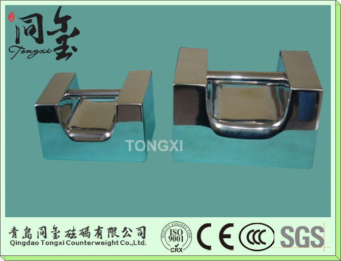 F1 Class 304 Stainless Steel Weight for OIML Standard Test Weight