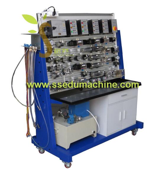 Vocational Training Equipment Transparent Hydraulic Trainer Hydraulic Bench Teaching Equipment