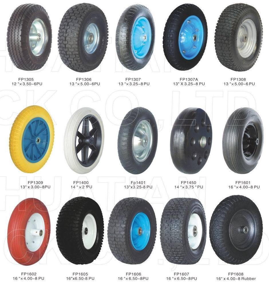 Rubber Wheel, PU Foam Wheel, Flat Wheel, Solid Wheel, Wheelbarrow Wheel
