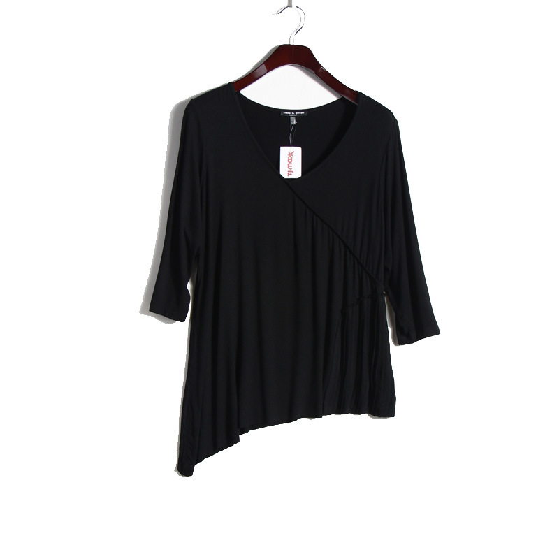 Fashion New Style Casual Loose Pleated T Shirt
