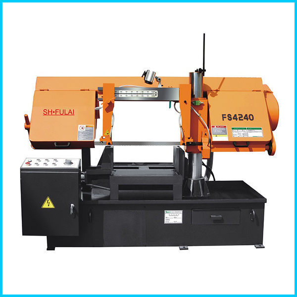 Double Column Type Semi-Automatic Band Saw