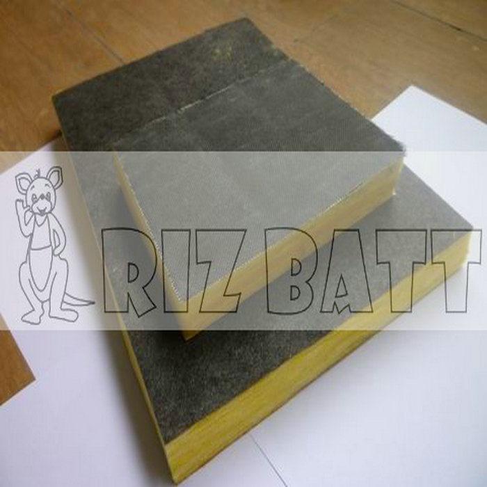 Yellow Gypsum Board ~ China glass wool with fabric cloth fiberglass gypsum board