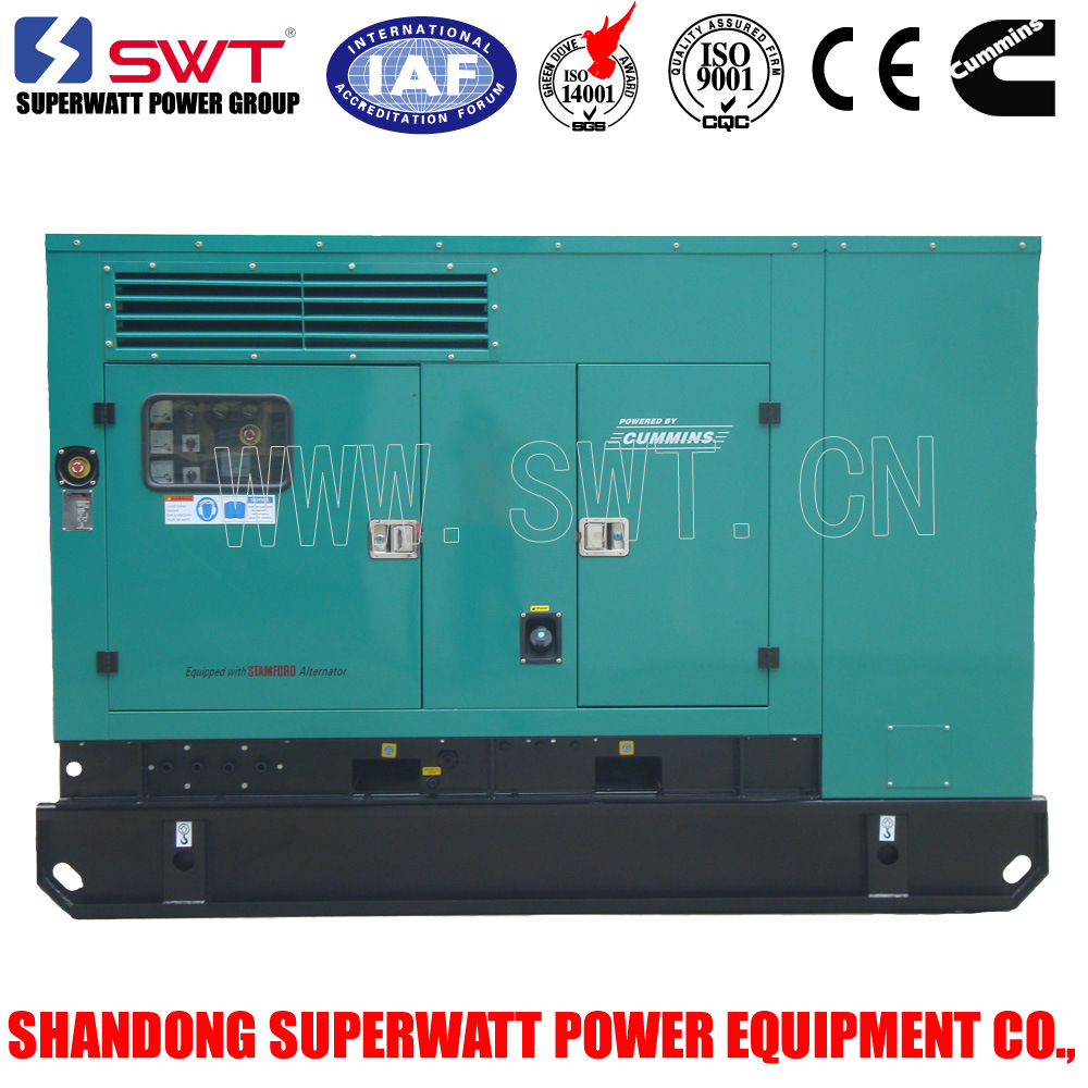 Super Silent Type Generator Set by Cummins Power 30kVA-2500kVA