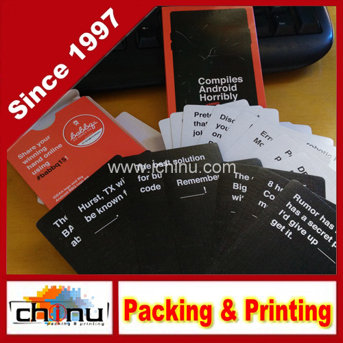 OEM Custom Playing Cards Game Cards (431019)