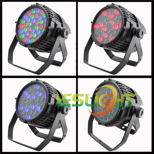 DMX512 Stage PAR Light 36PCS*3W RGB Epistar LEDs for Outdoor PAR Light