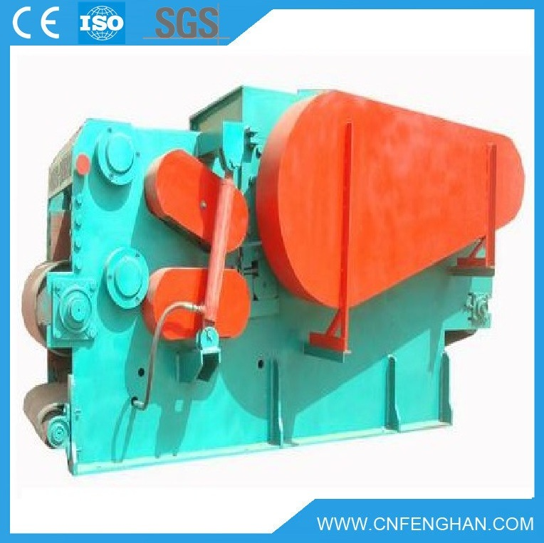 5-8 T/H High Efficient Drum Wood Chipper with Ce (LY-315)