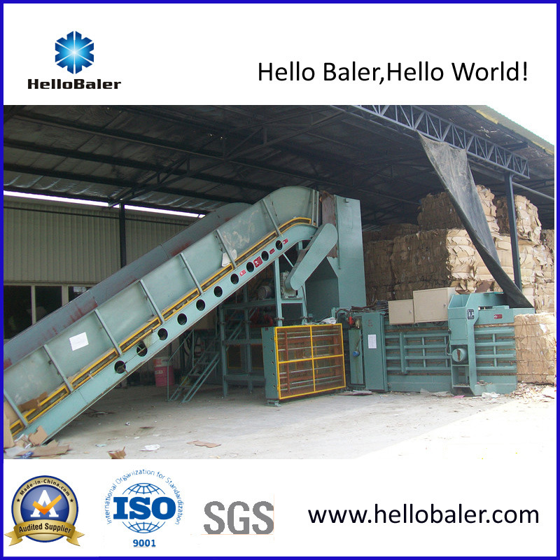 12 Ton/Hr Hydraulic Waste Paper Baling Machine (HFA10-14)