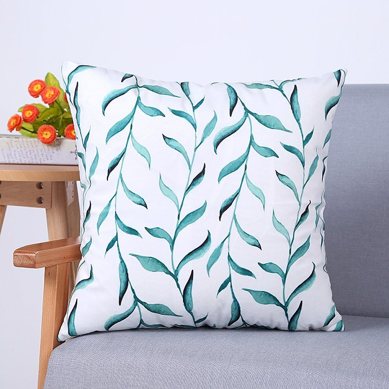 Digital Print Decorative Cushion/Pillow with Botanical&Floral Pattern (MX-93)