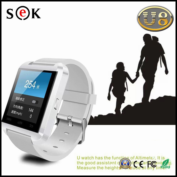 2016 New Bluetooth Smartwatches U8 Smart Watch for Ios and Andriod Mobile Watch with Bluetooth