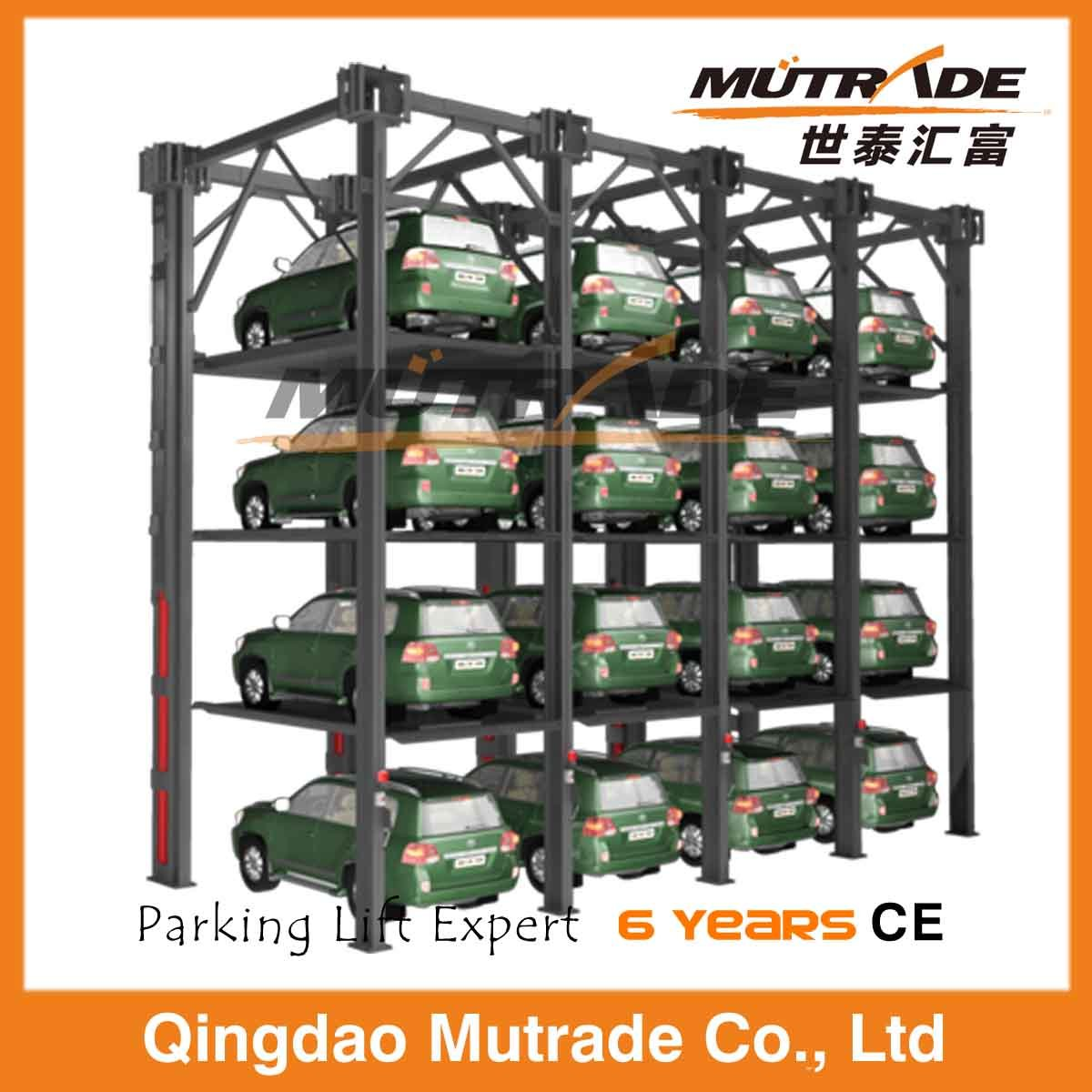 Ce 3ton Four Post Hydraulic Car Stack Parking System