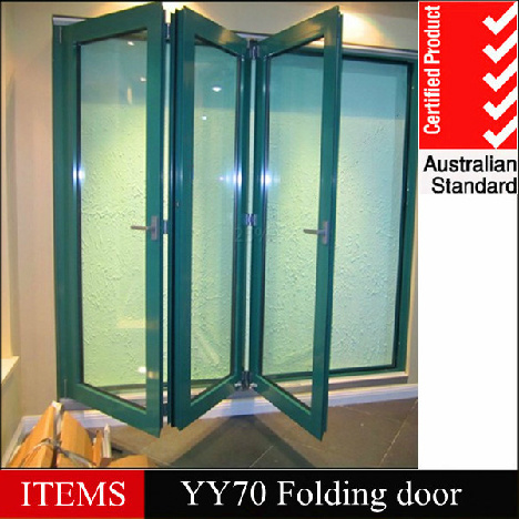 China Aluminum Folding Screen Door Yy Type China
