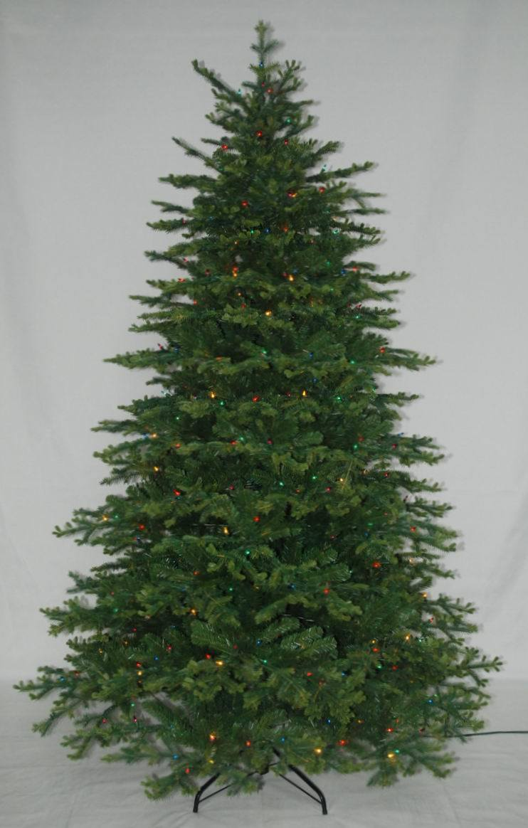 Realist Artificial Christmas Tree with String light Multi Color LED Decoration (AT1076)