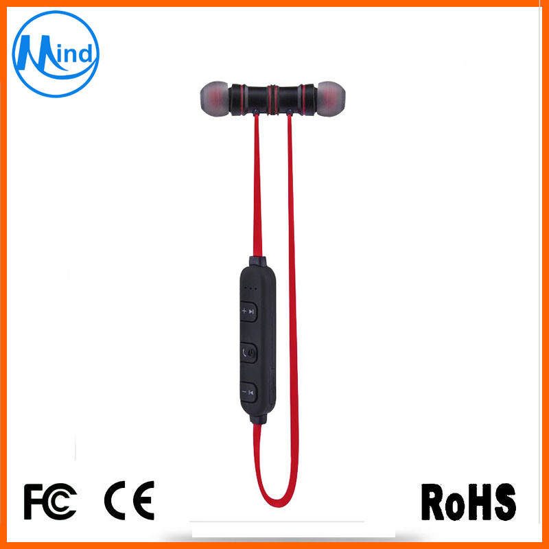 Mini Sport Bluetooth Headset Earphone with Magnetic Attraction