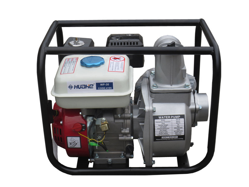 "WP-30B Gasoline Water Pump, Petrol Engine Water Pump (3""/3 inch)"