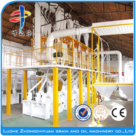 Mini Fully Automatic Wheat/Corn/Rice Flour Mill