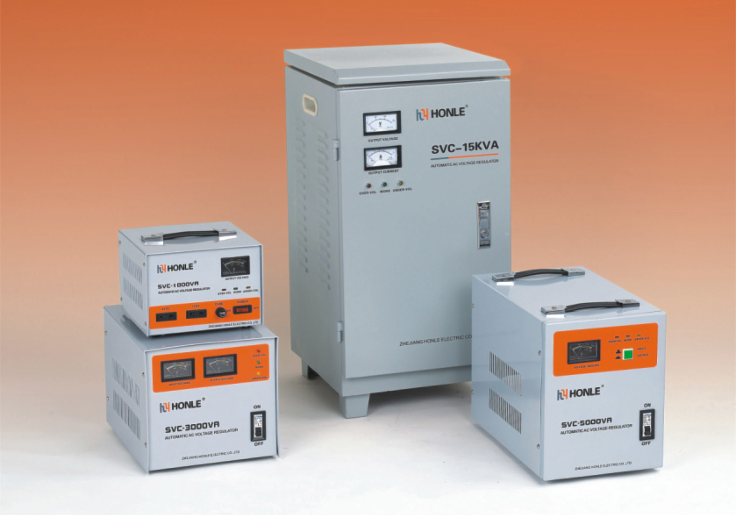 SVC Single-Phase High Accuracy Full Automatic AC Voltage Stabilizers