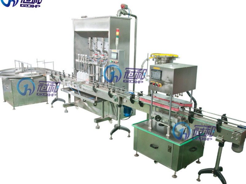 Top-Quality Liquid Filling Machinery with CE (GHALF-8)