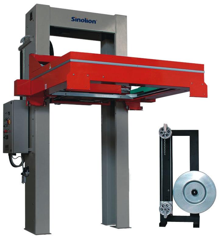 Automatic Horizontal Pallet Strapping Machine