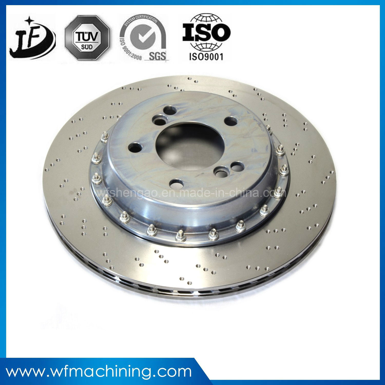 OEM Customizd Steel Casting Iron Foundry/Casting Motorcycle Brake Discs