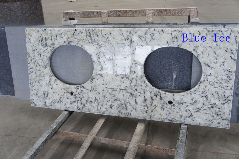 Blue Ice Granite Kitchen Countertop