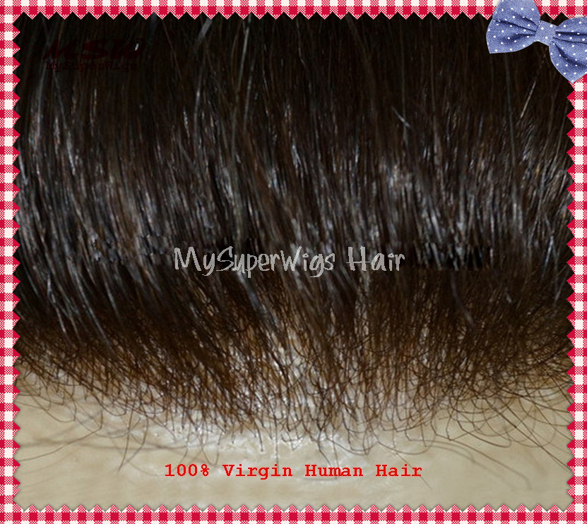 V-Looping Hair Extra Thin Poly 0.02mm Toupee