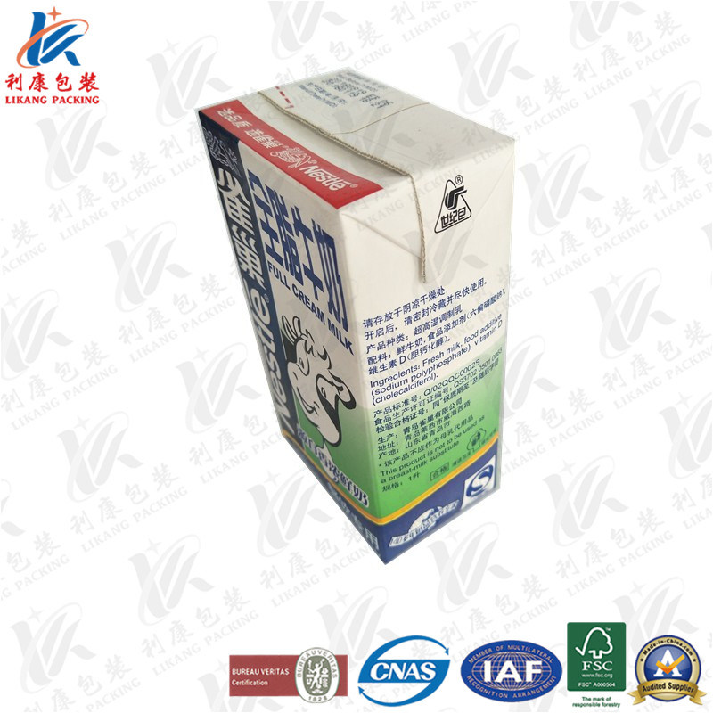 1L Aseptic Brick Carton Used on Milk and Juice