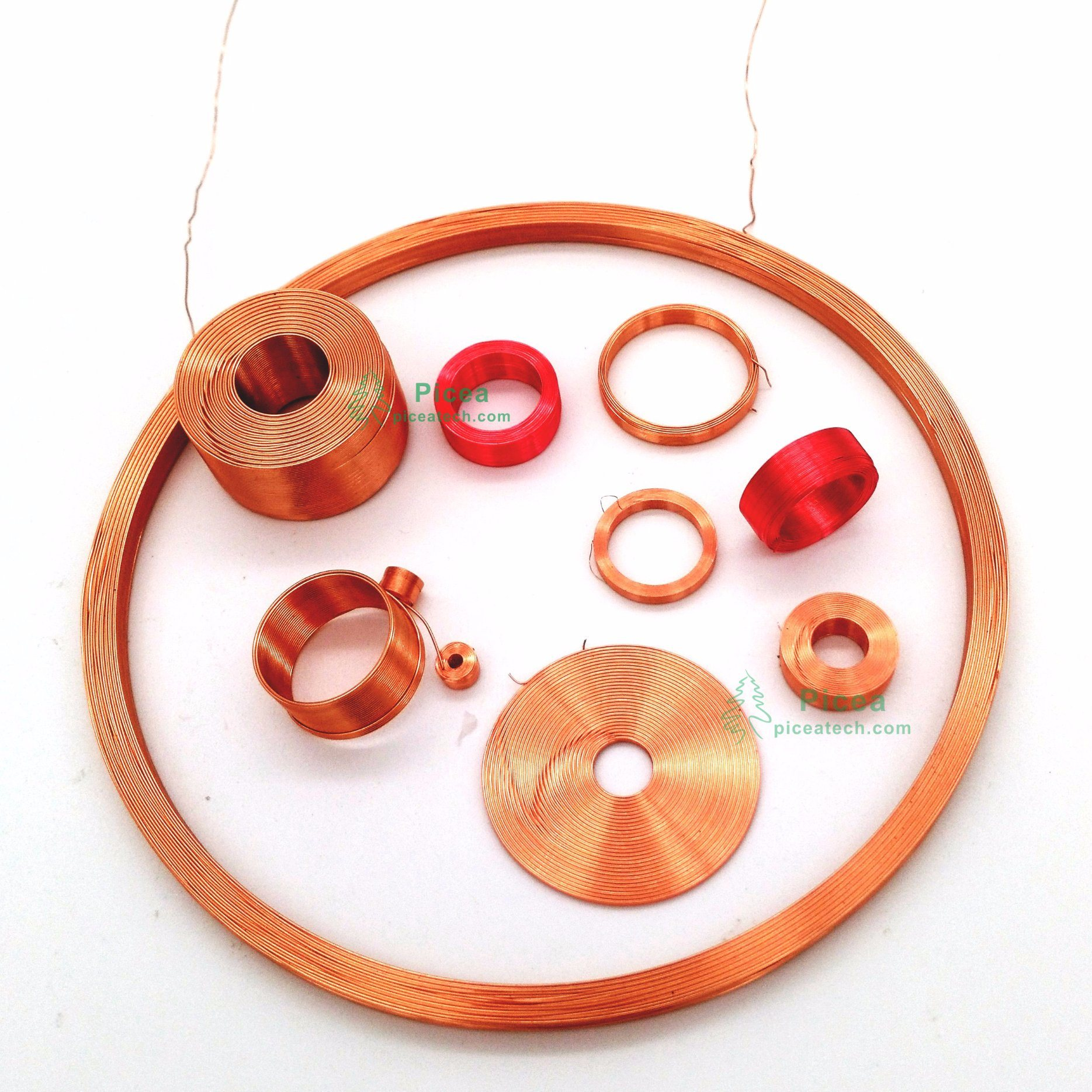 Power Inductor Wire Winding Coil
