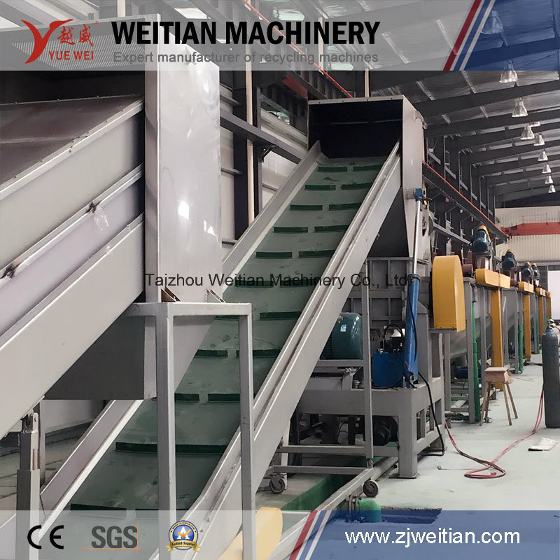 Ce PP/PE Dry Film Plastic Recycling Machine