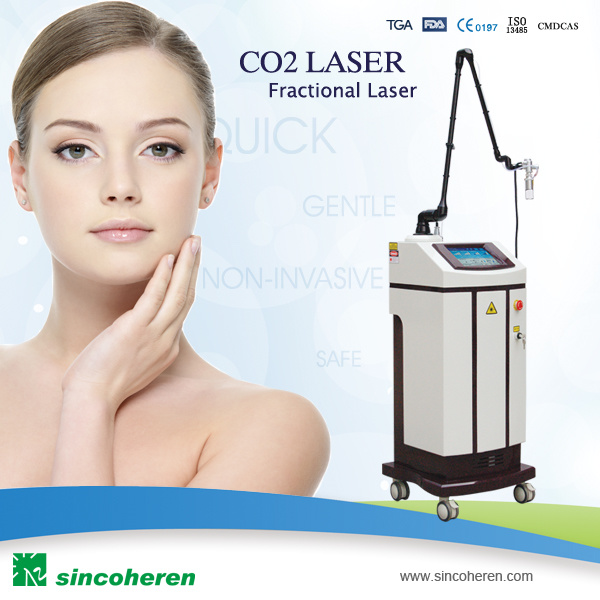 Super Skin Care Fractional CO2 Laser Beauty Equipment RF Therapy