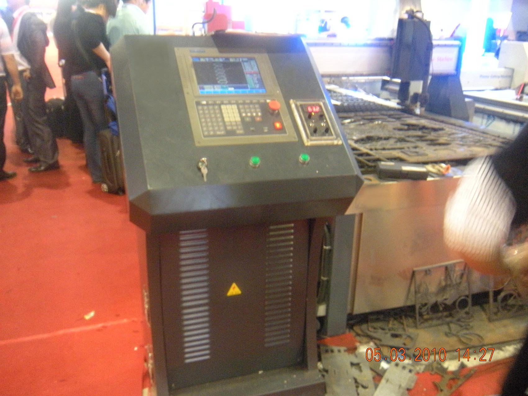 Industrial Plasma Cutting Machine for Metal