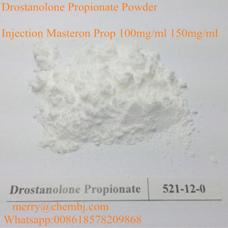 Healthy Medical Muscle Buildup Steroid Powder Drostanolone Propionate Masteron