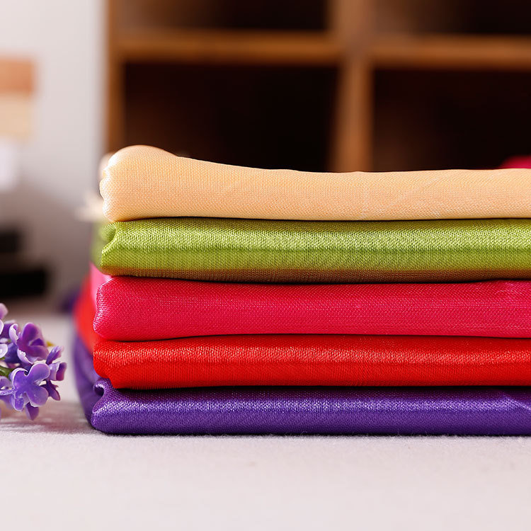 Polyester Knitted Garments Lining Light Fabrics
