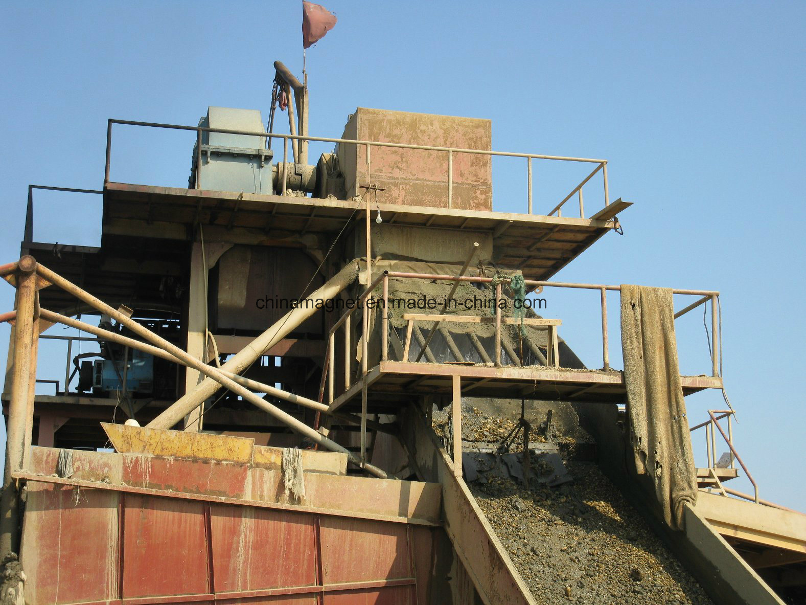 Gold Mining Equipment/Gold Mining Dredger for Gold Mining pictures & photos